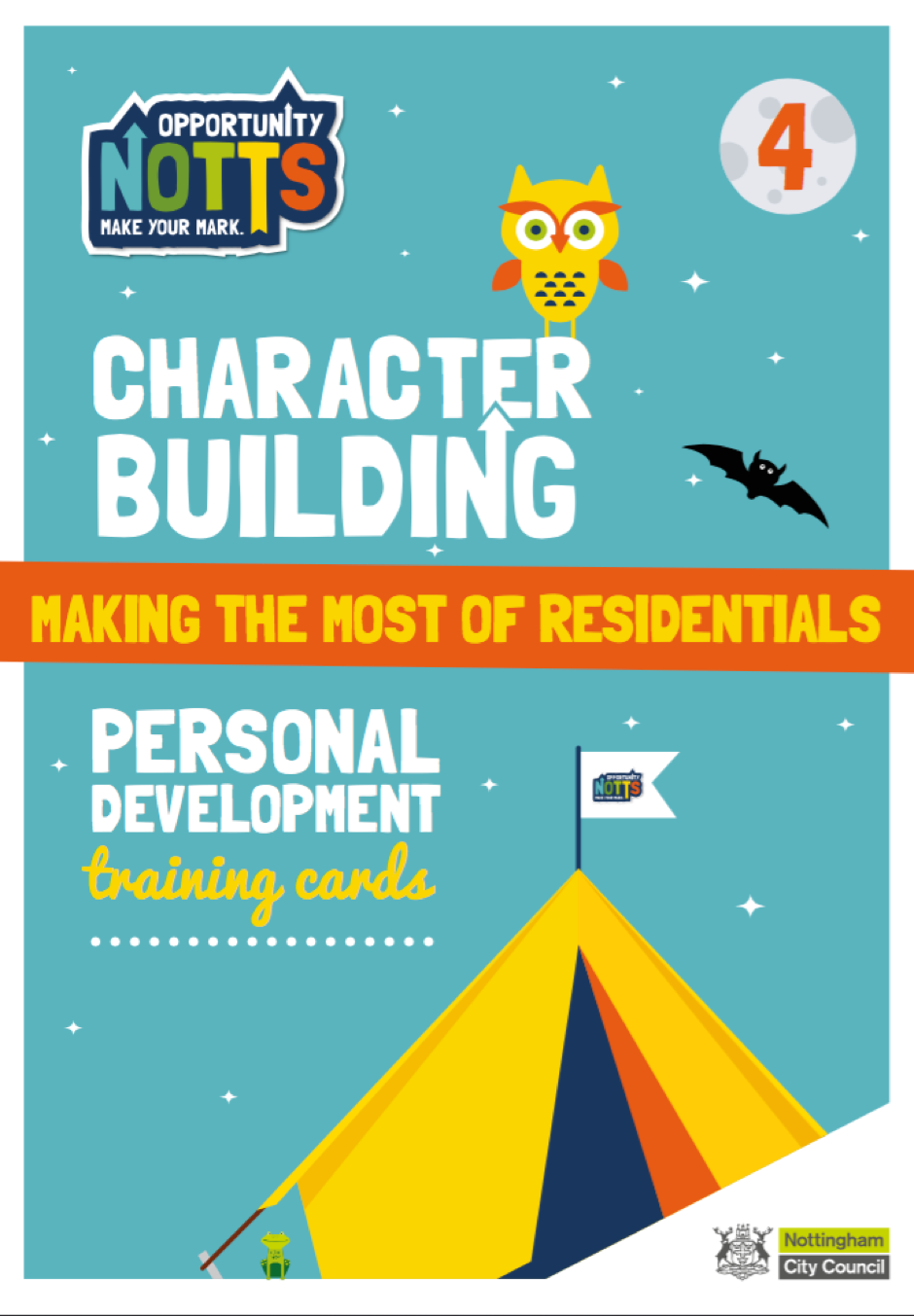character curriculum card pack 4